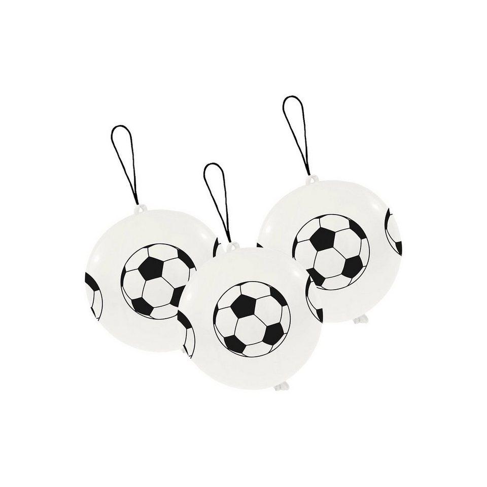 Amscan 3 Punchballs, Fußball