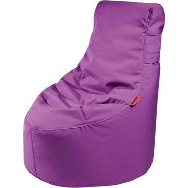 Outdoor-Sitzsack Slope XS, Plus, purple