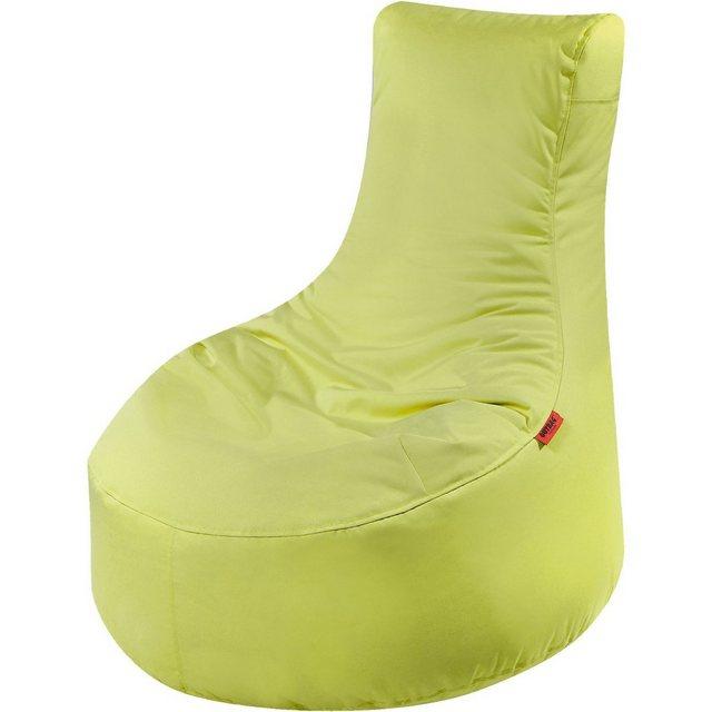 OUTBAG Slope Outdoor-Sessel Sitzsack plus lime/hellgrün (1 Stück)