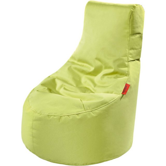 OUTBAG Slope XS Outdoor-Sessel Kinder-Sitzsack plus lime/hellgrün (1 Stück)