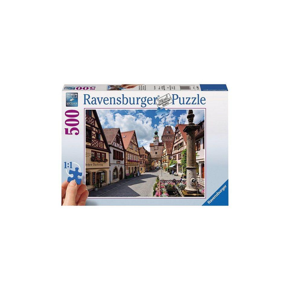 Ravensburger Puzzle 500 Teile, 61x46 cm, Gold Edition: größere Teile, Rot online kaufen