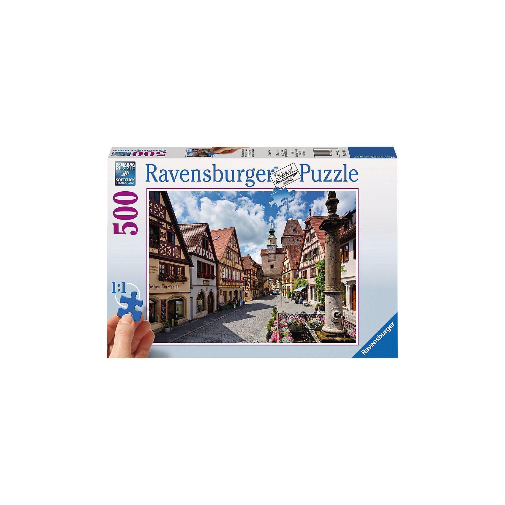 Ravensburger Rothenburg ob der Tauber 500 Teile