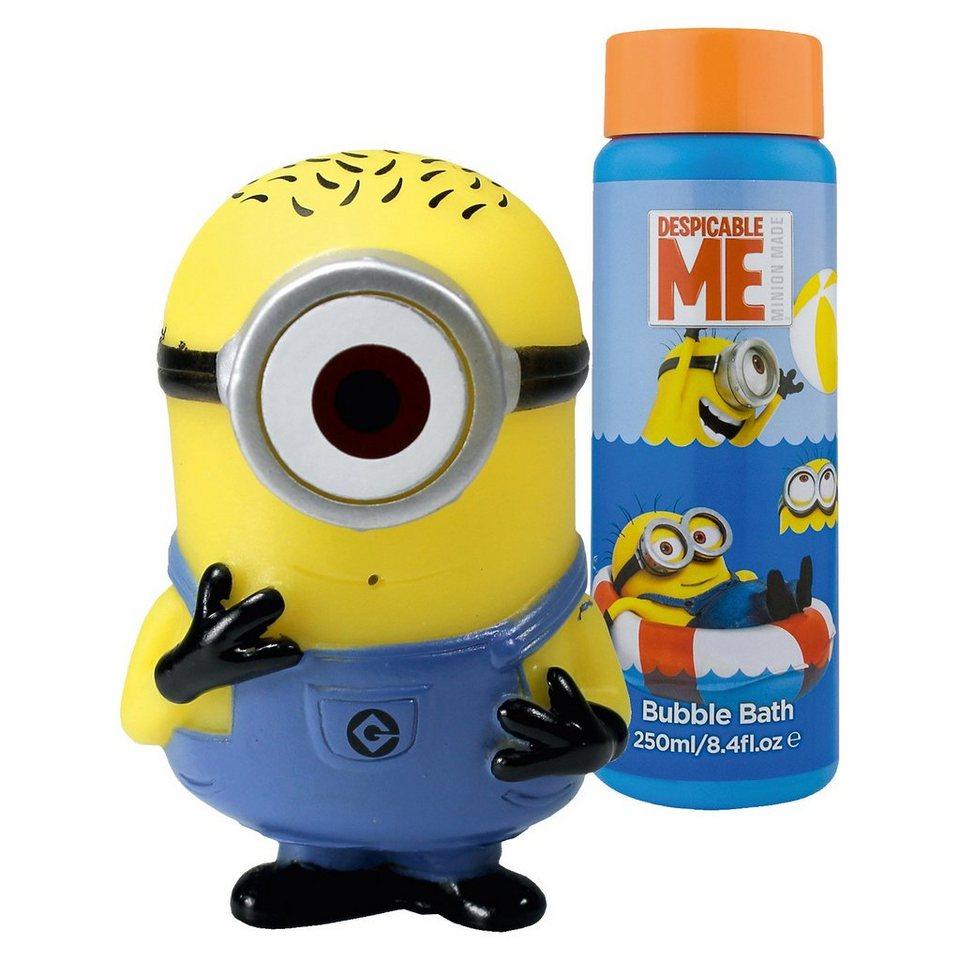 Top Media Schaumbadflaschen- und Quietscher Minions 250 ml