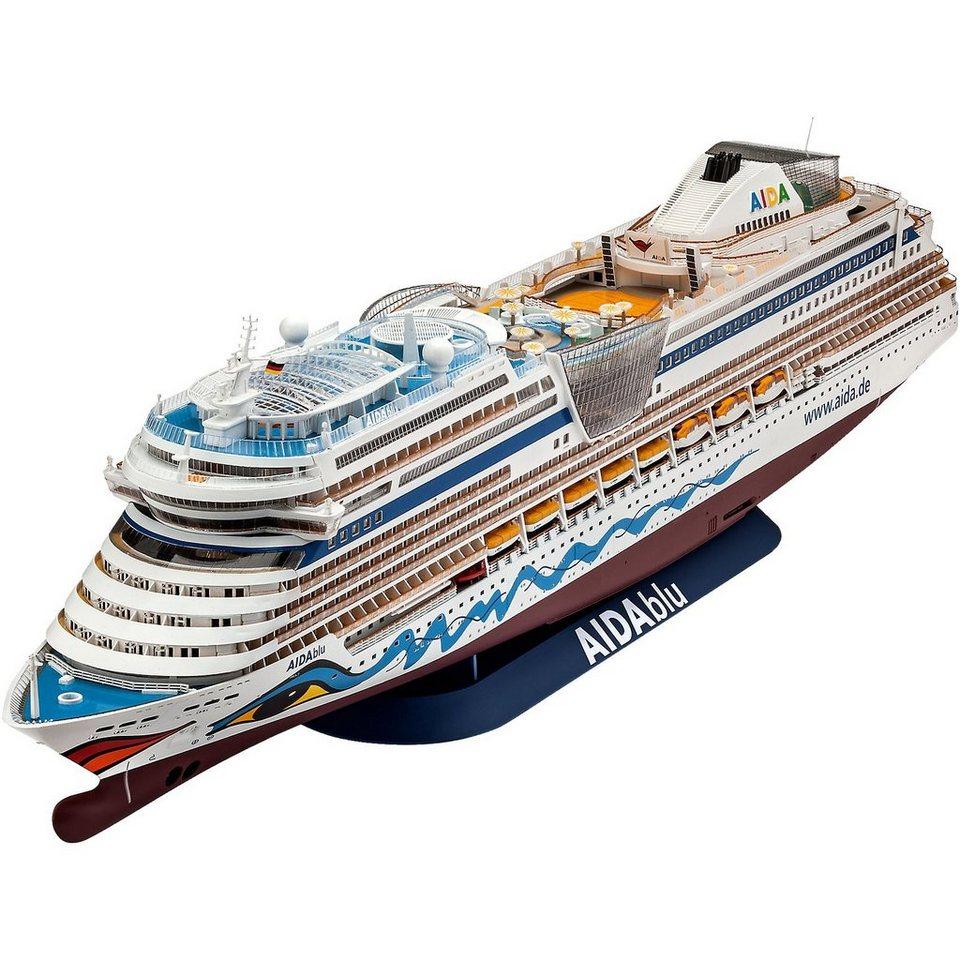 Revell Modellbausatz Cruiser Ship AIDA im Maßstab 1:400 ...