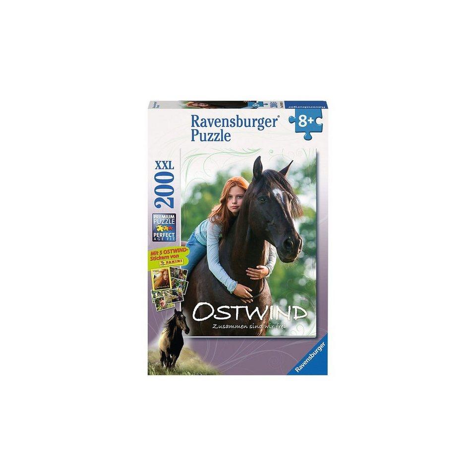 Ravensburger Puzzle Mika & Ostwind 200 Teile