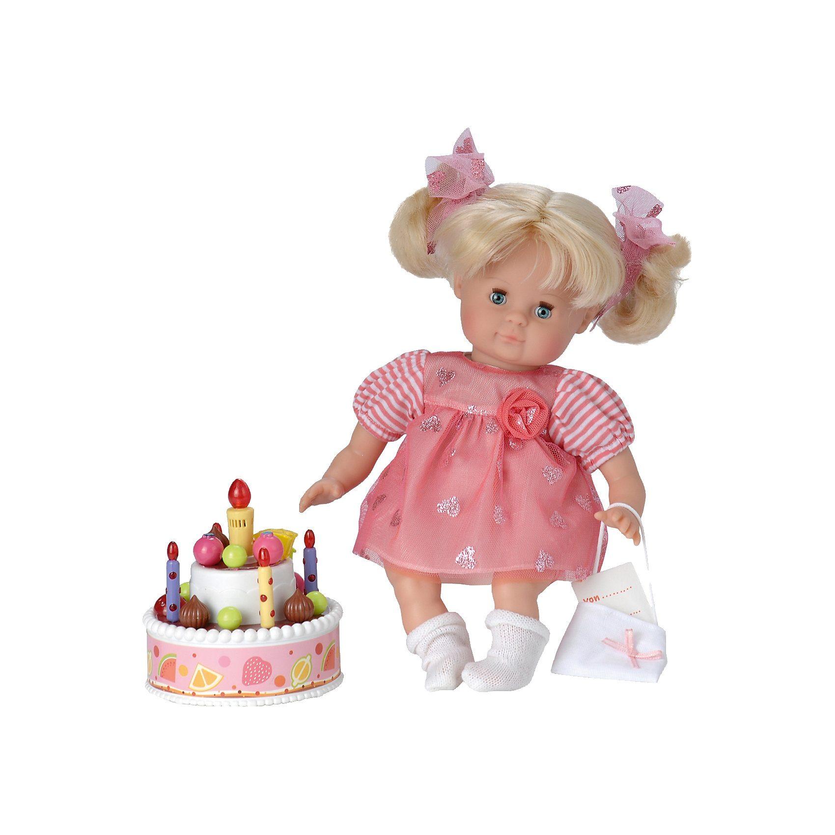 Stadlbauer Schildkröt Puppe Schlummerle Geburtstagsprinzessin, 32 cm