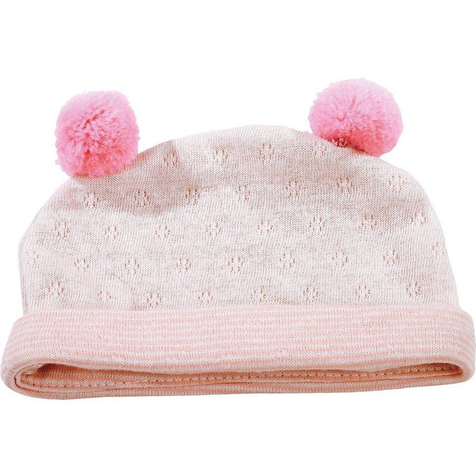 Götz Puppenkleidung Mütze, pink stripes 30-33 cm