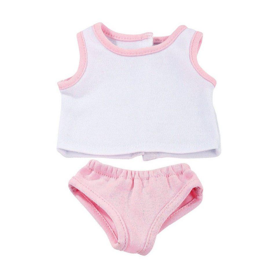 Götz Puppenkleidung Unterwäsche, classic pink 30-33 cm