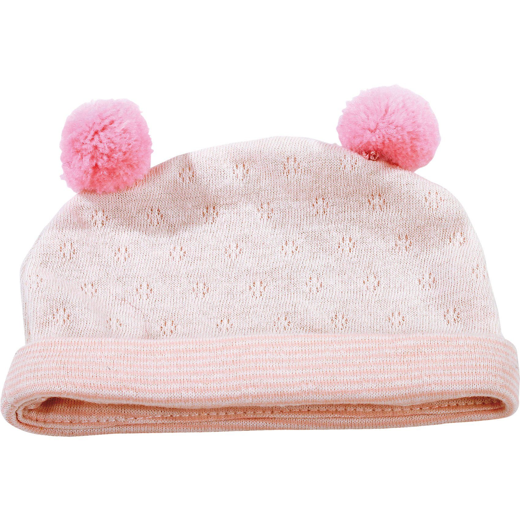 Götz Puppenkleidung Mütze, pink stripes 42-50 cm