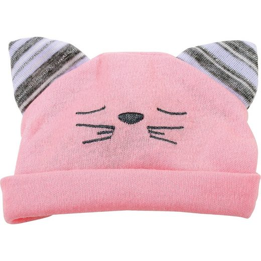 GÖTZ Puppenkleidung Mütze, Katze 42-50 cm