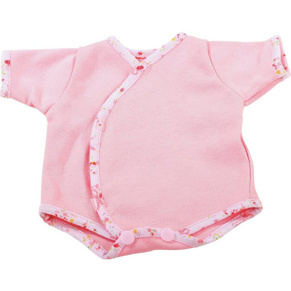 Götz Puppenkleidung Body, classic pink 42-46 cm