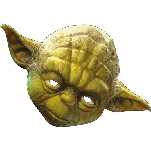 Rubie´s Yoda Maske aus Pappe