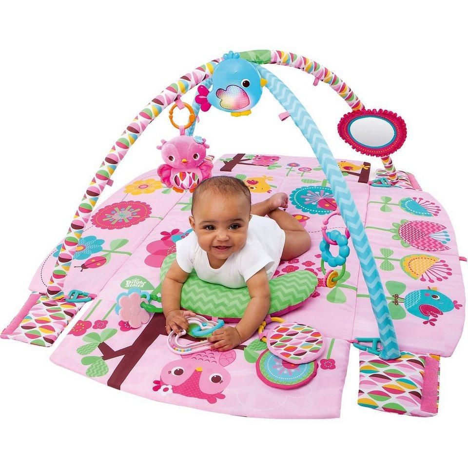 kids ii bright starts pretty in pink spieldecke mit bogen online kaufen otto. Black Bedroom Furniture Sets. Home Design Ideas