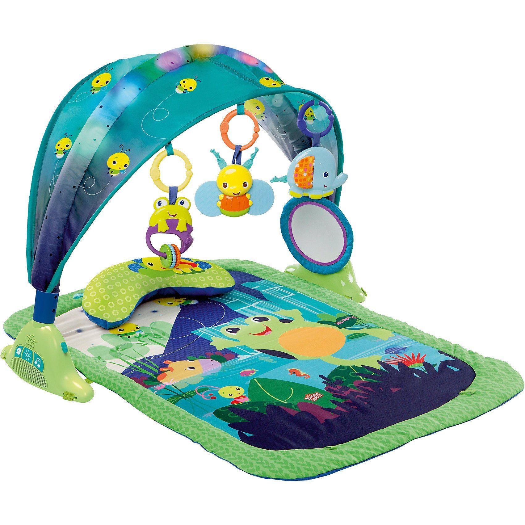 Kids II Bright Starts Spieldecke mit Baldachin (mit Licht und Musik)