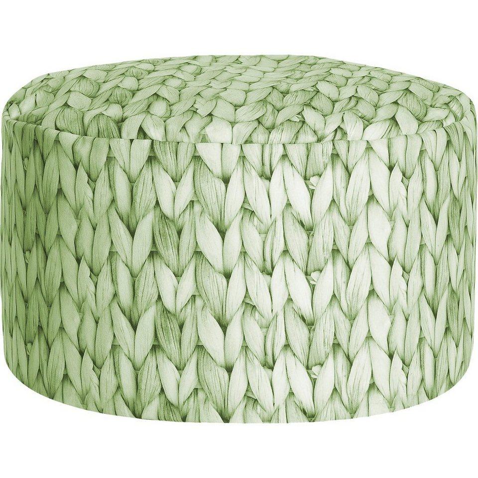 Sitting Point Sitzhocker DotCom BASKET, lindgrün in grün