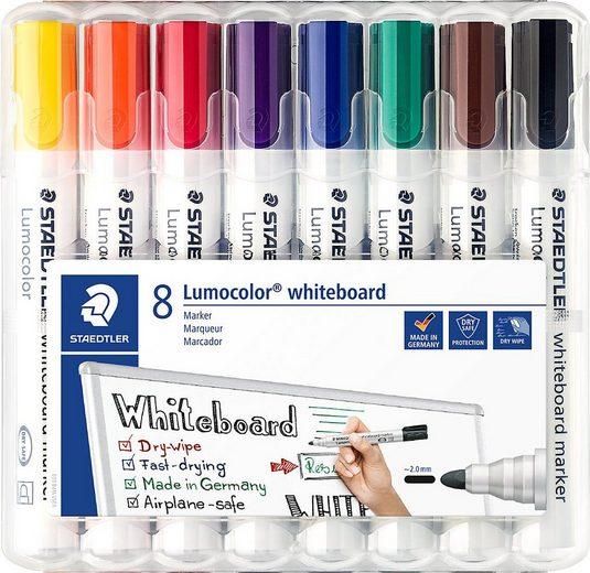 STAEDTLER Dekorierstift »Lumocolor Whiteboard Marker 2 mm, 8 Farben«