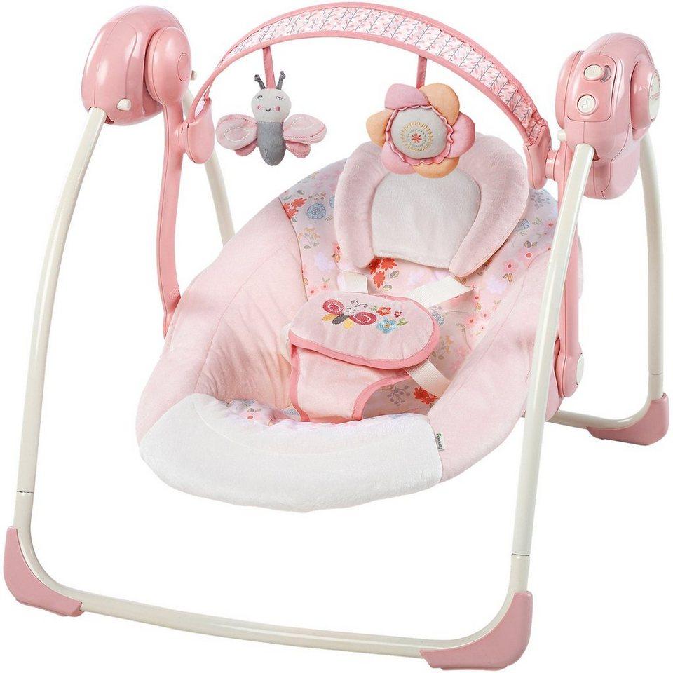 Babyschaukel, Felicity Floral in rosa