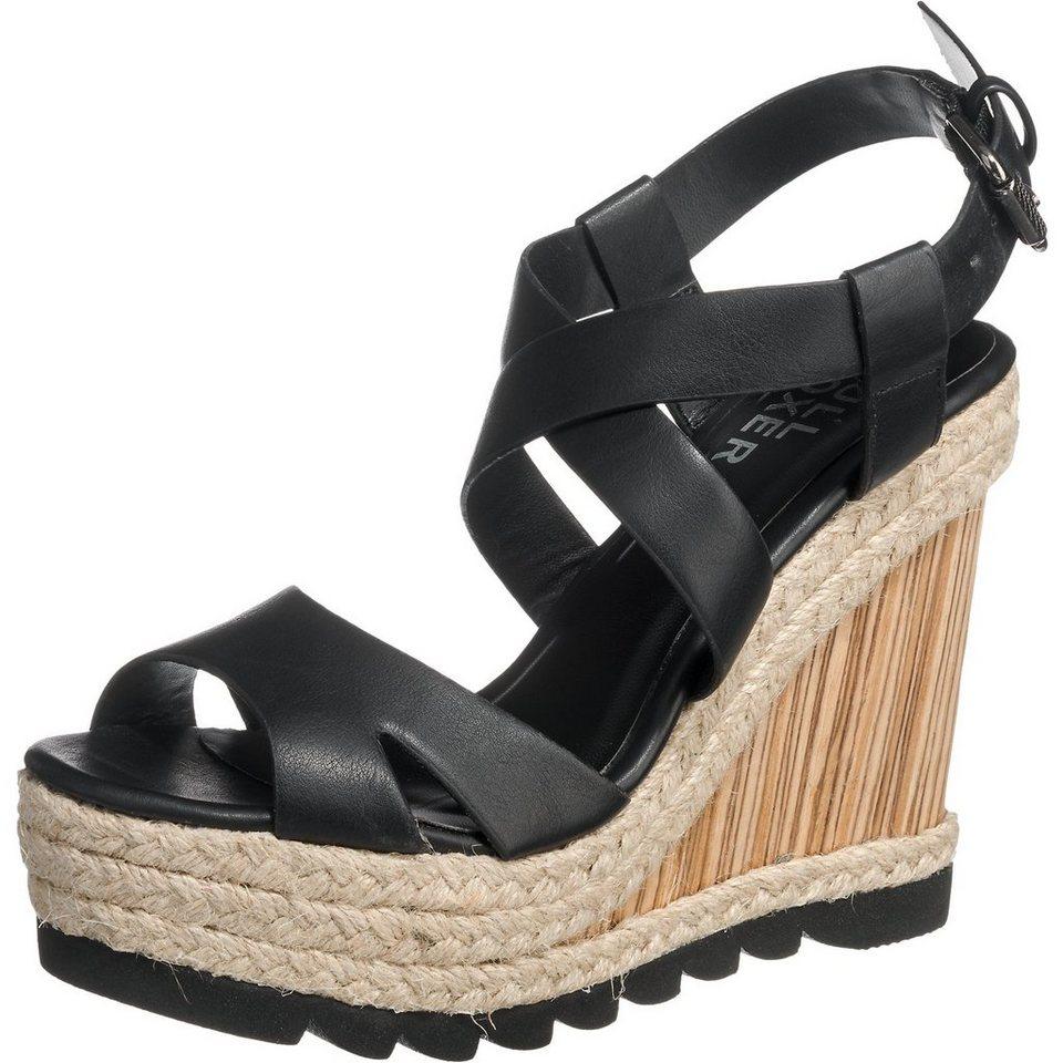 BULLBOXER Sandaletten in schwarz
