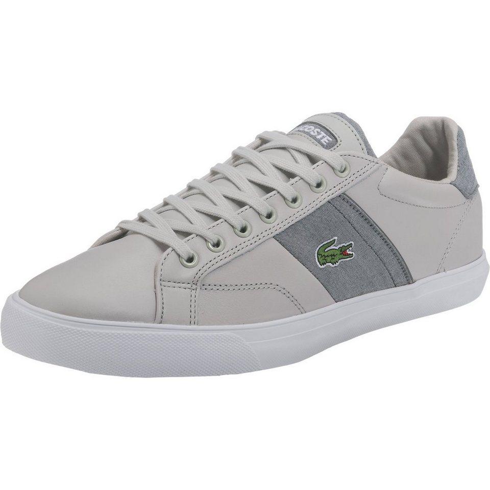 LACOSTE Fairlead Sneakers in weiß-kombi