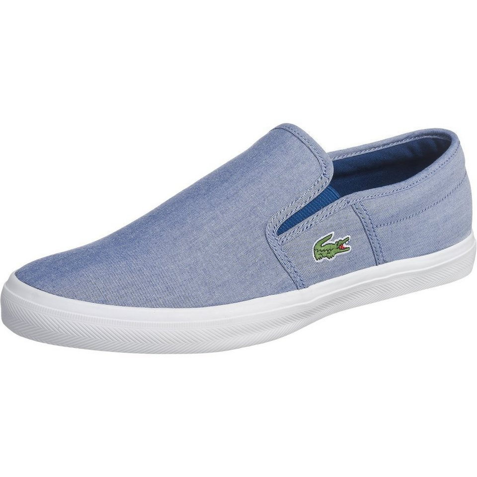 LACOSTE Gazon Sport Sneakers in blau