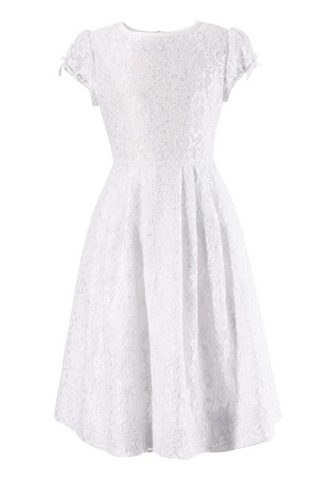 TURI LANDHAUS Vaikiški suknelė iš nėrinių su Satinin...