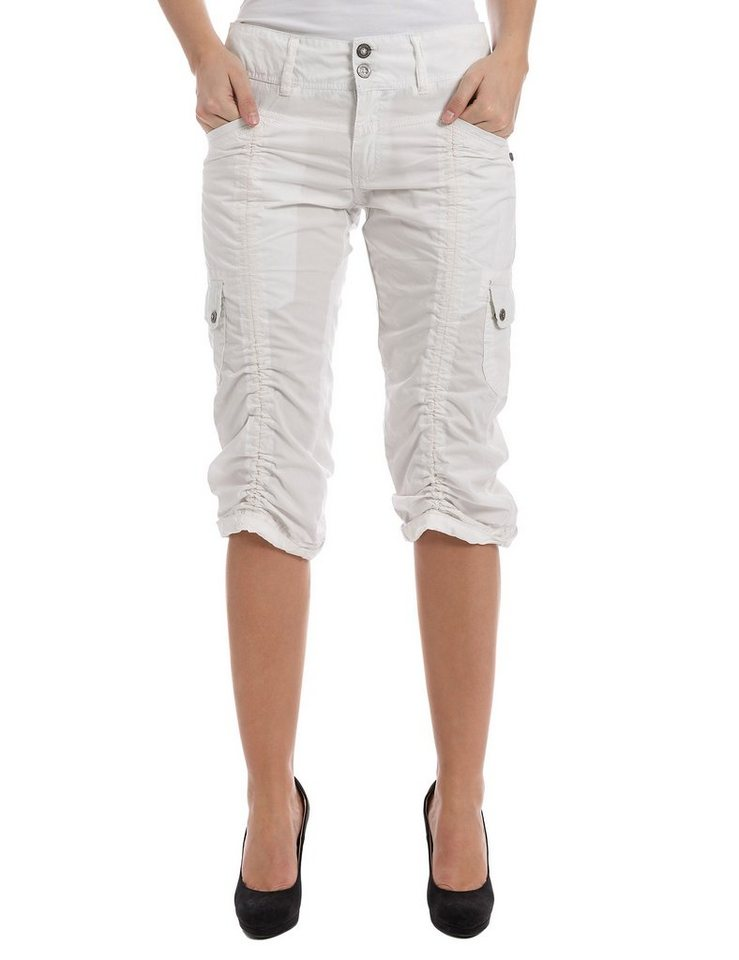 TIMEZONE Hosen kurz »HolidayTZ 3/4 pants« in cloud white