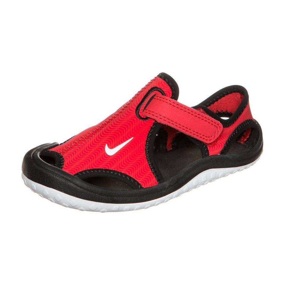 Nike Sportswear Sunray Protect Sandale Kleinkinder in rot / schwarz / weiß