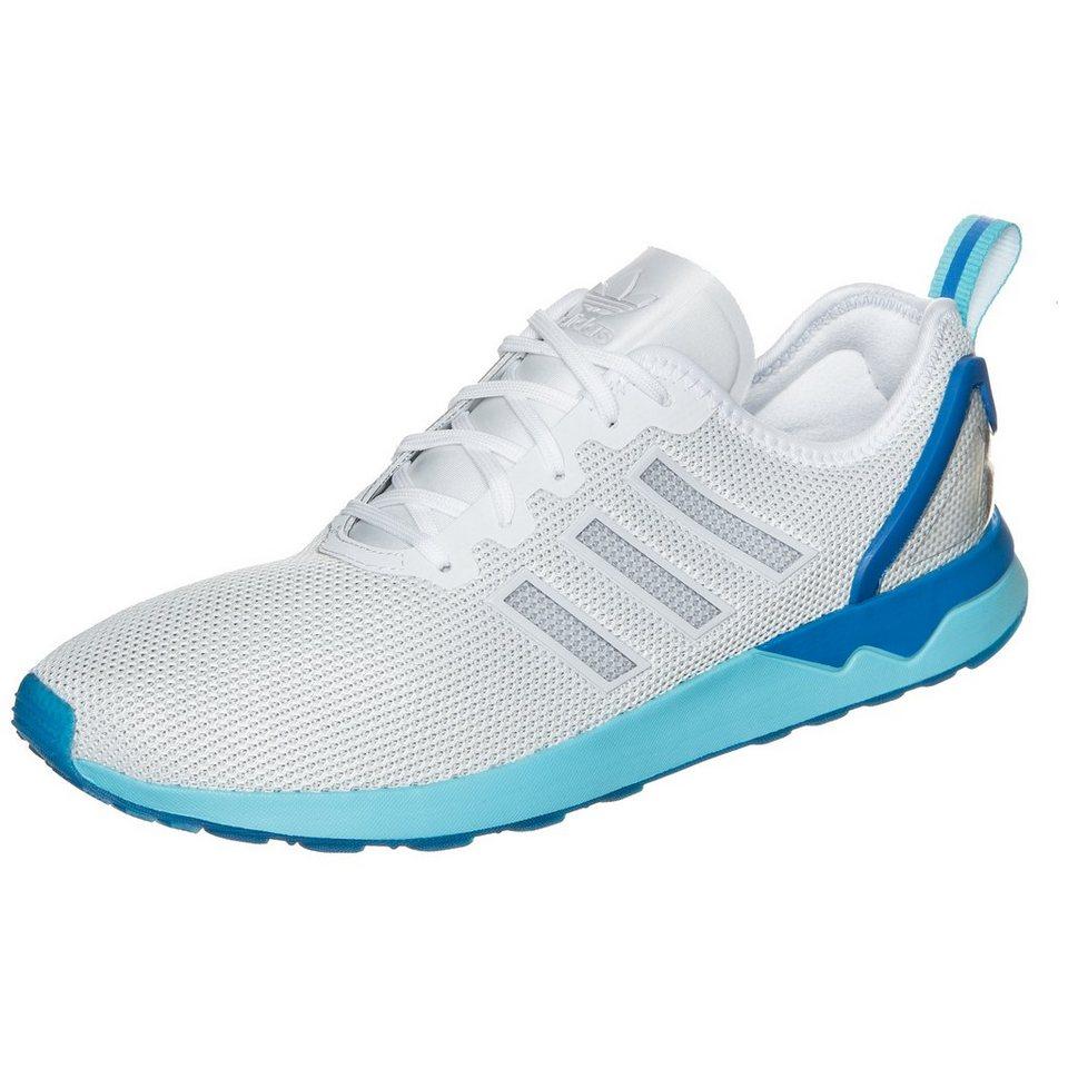 adidas Originals ZX Flux ADV Sneaker Herren in weiß / blau
