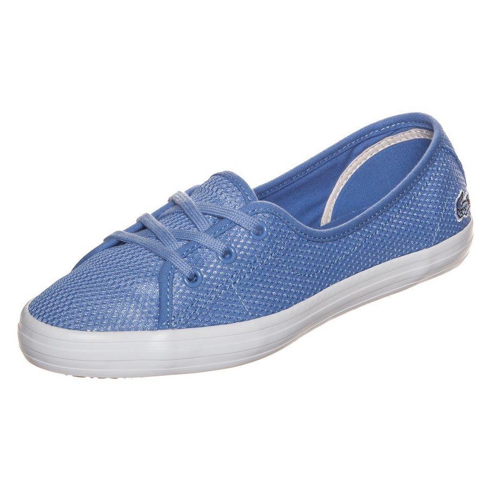 LACOSTE Ziane Chunky Sneaker Damen in hellblau / weiß
