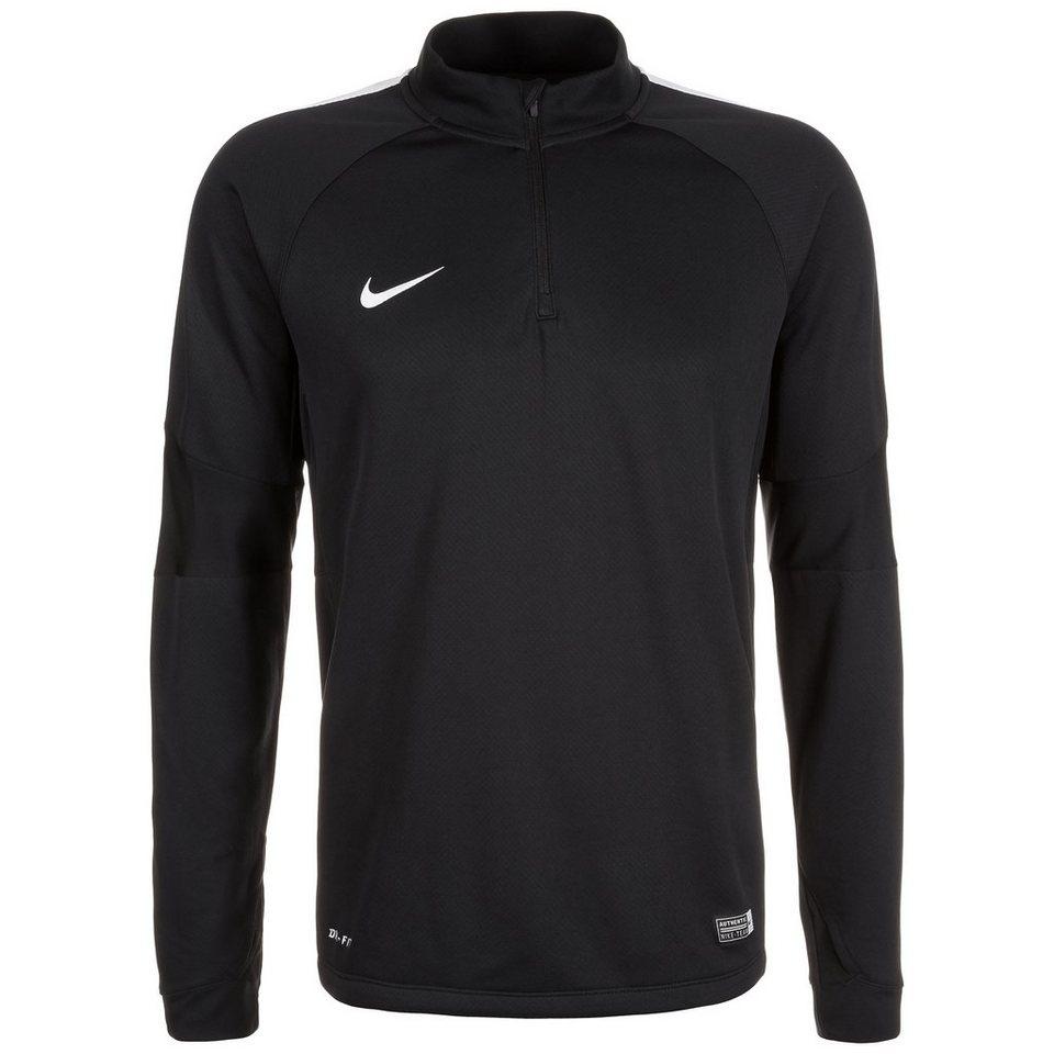 NIKE Squad 15 Ignite Midlayer Sweatshirt Herren in schwarz / weiß