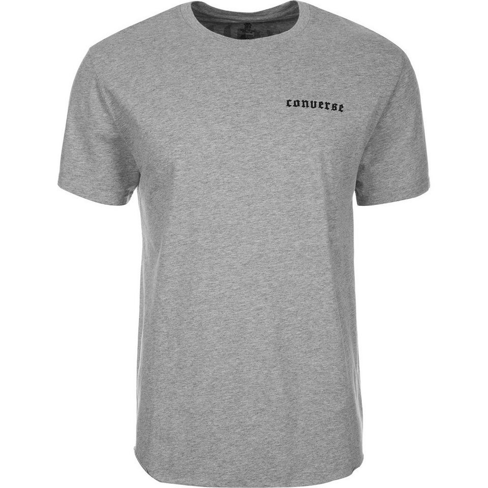 CONVERSE Back Flag Basketball T-Shirt Herren in grau