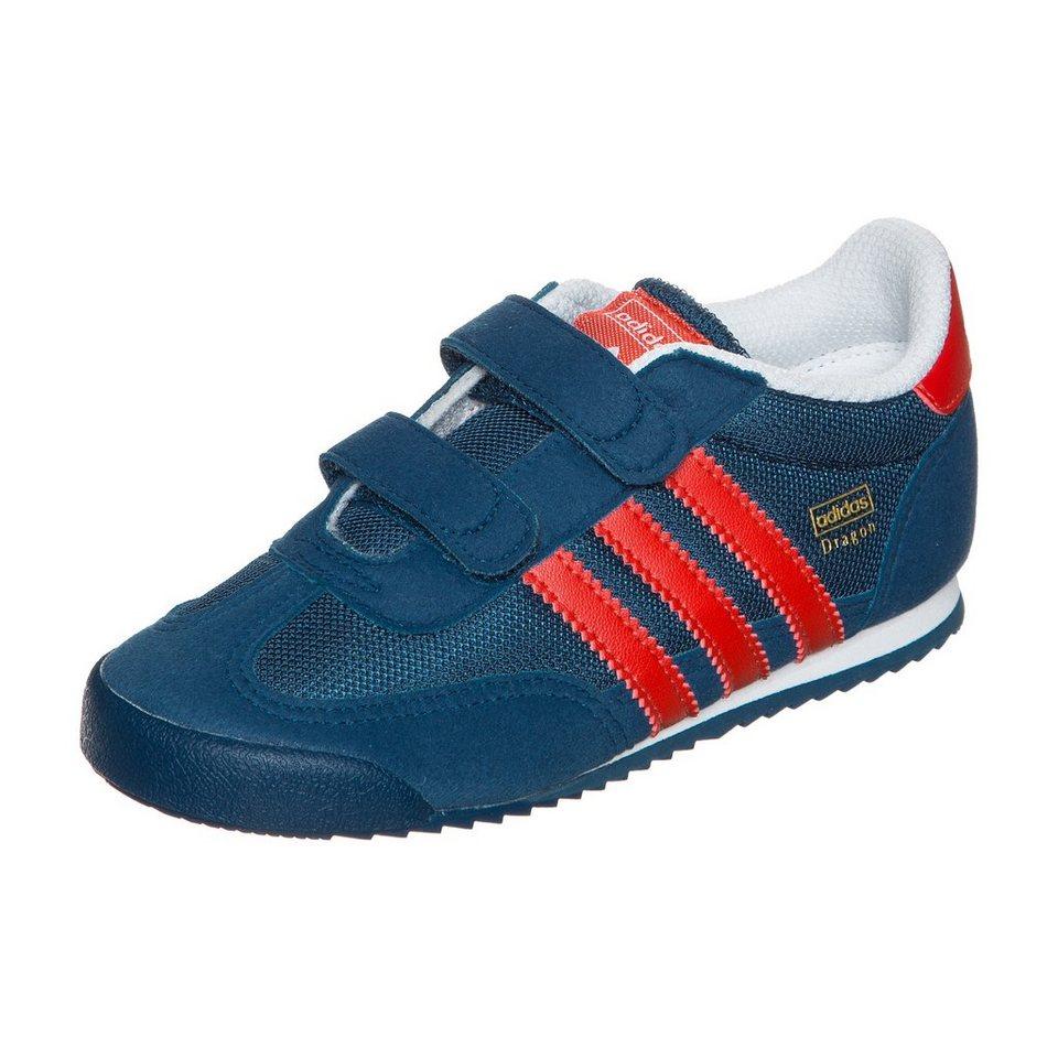 adidas Originals Dragon CF Sneaker Kleinkinder in blau / rot
