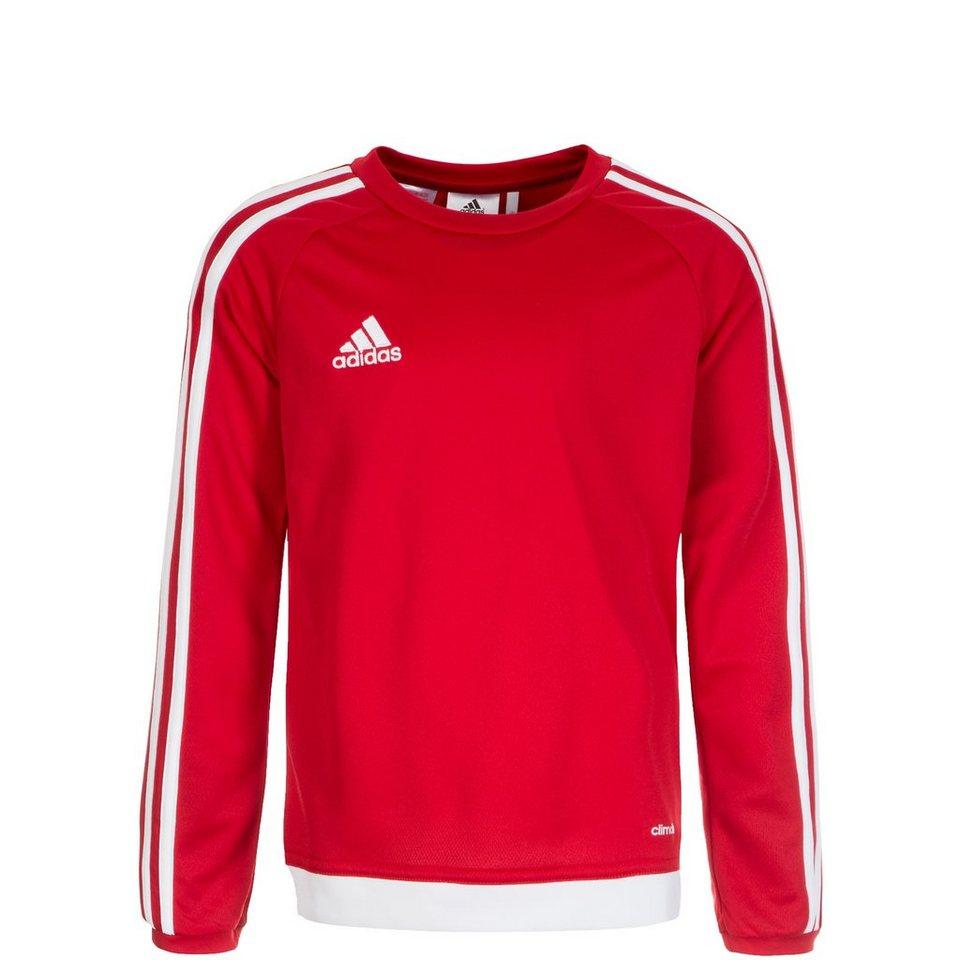 adidas Performance Estro 15 Trainingsshirt Kinder in rot / weiß