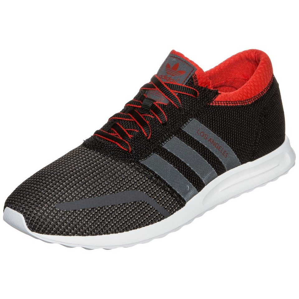 adidas Originals Los Angeles Sneaker Herren in schwarz / rot / grau