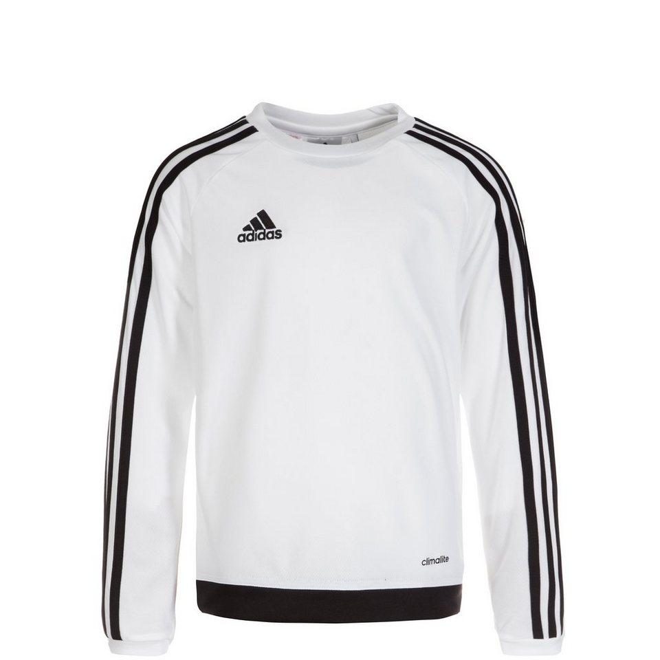 adidas Performance Estro 15 Trainingsshirt Kinder in weiß / schwarz