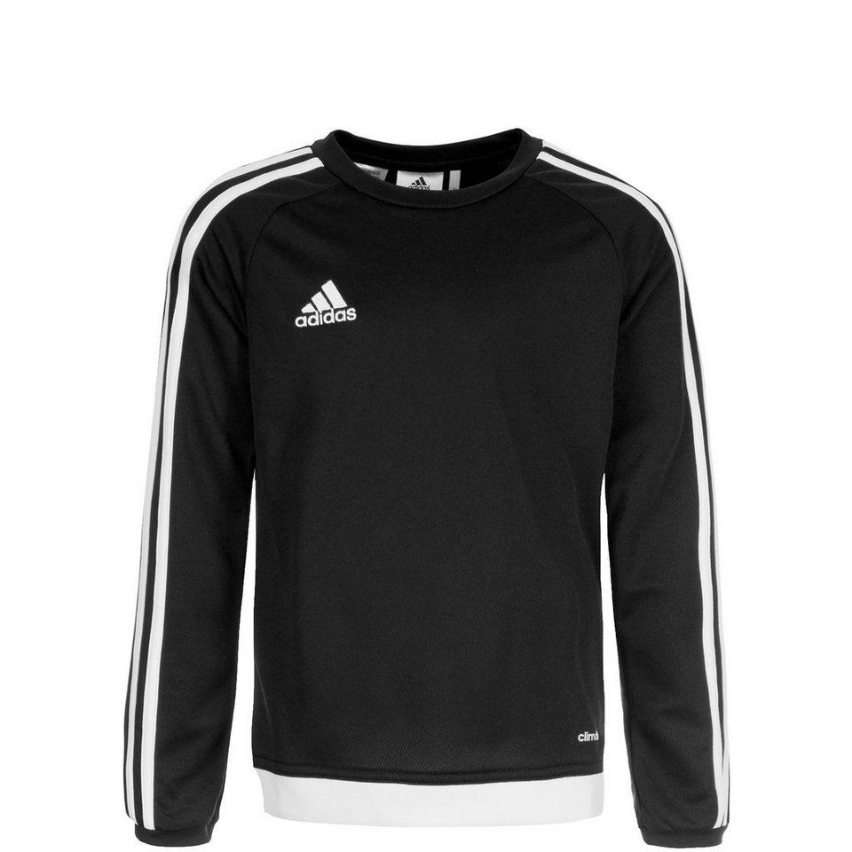 adidas Performance Estro 15 Trainingsshirt Kinder in schwarz / weiß