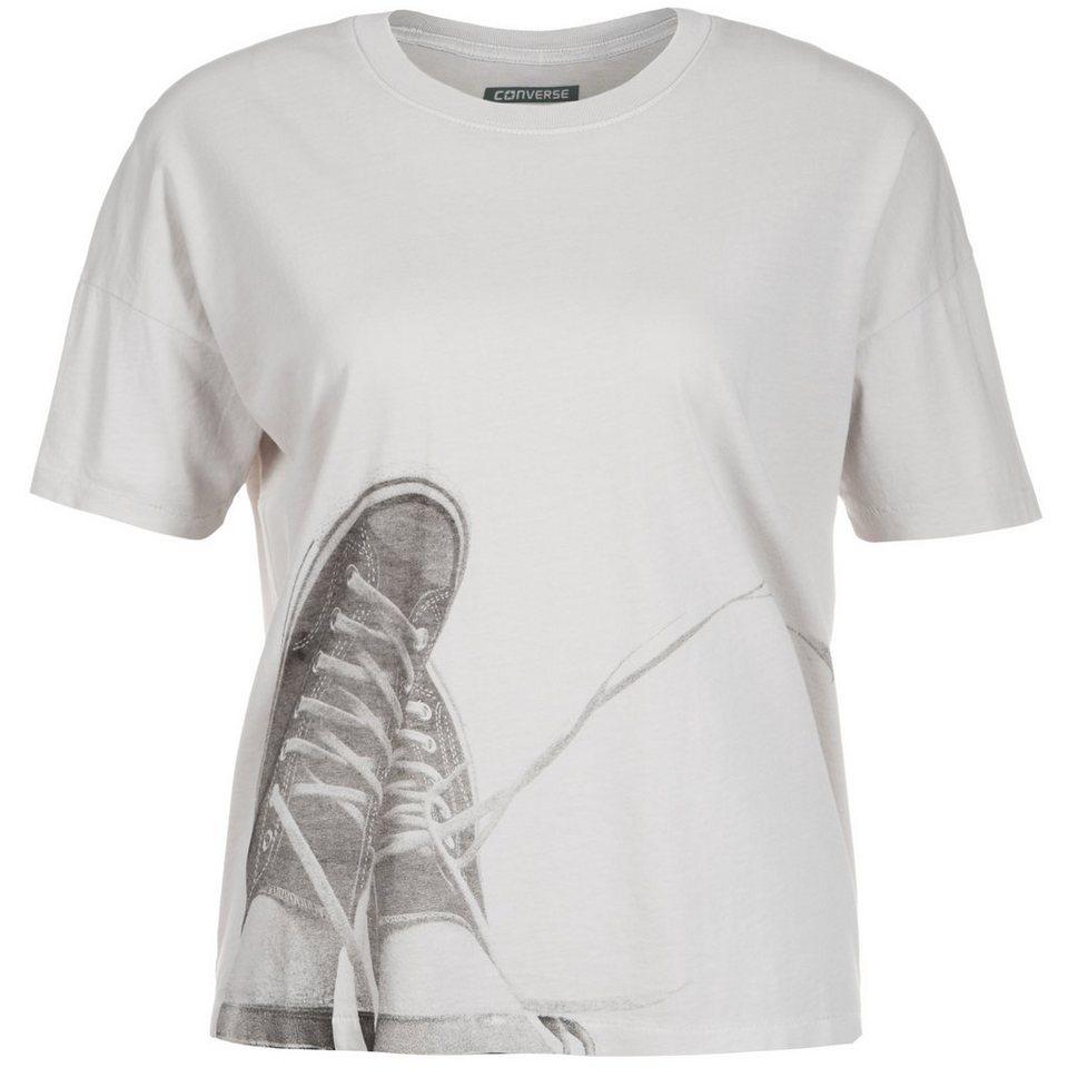 CONVERSE GD Chucks Swing T-Shirt Damen in hellgrau