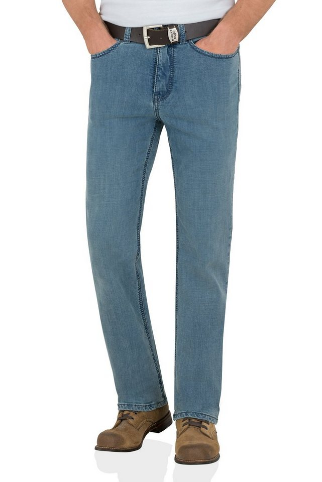 PADDOCK'S Stretch Jeans Saddle Stitch »RANGER« in bleached