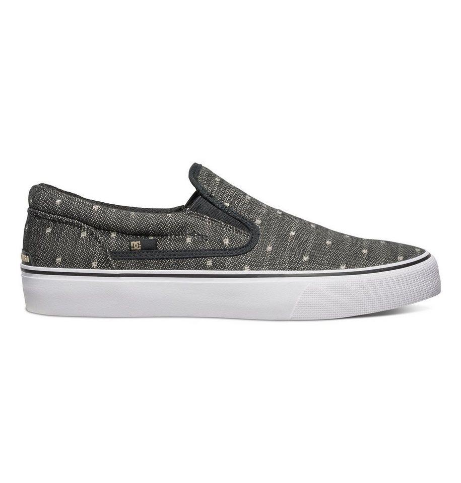 DC Shoes Slip-On Schuhe »Trase TX SE« in black/tan