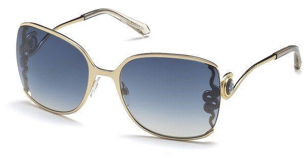 Roberto Cavalli Damen Sonnenbrille » RC1012« in 32X - gold/blau