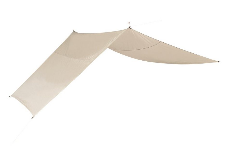 Nordisk Zelt »Kari 20 m² Tarp Technical Cotton« in beige