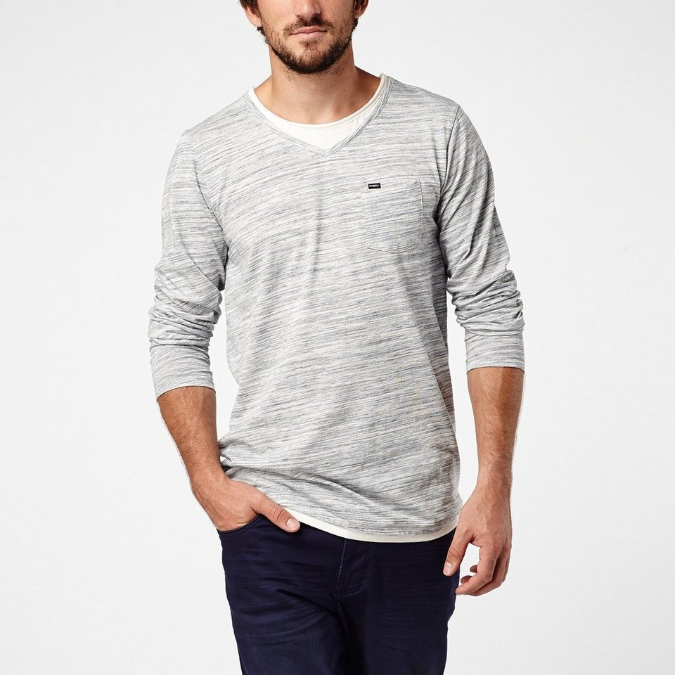 O'Neill T-shirt manches longues »Jack Special Top« in Blau gemustert