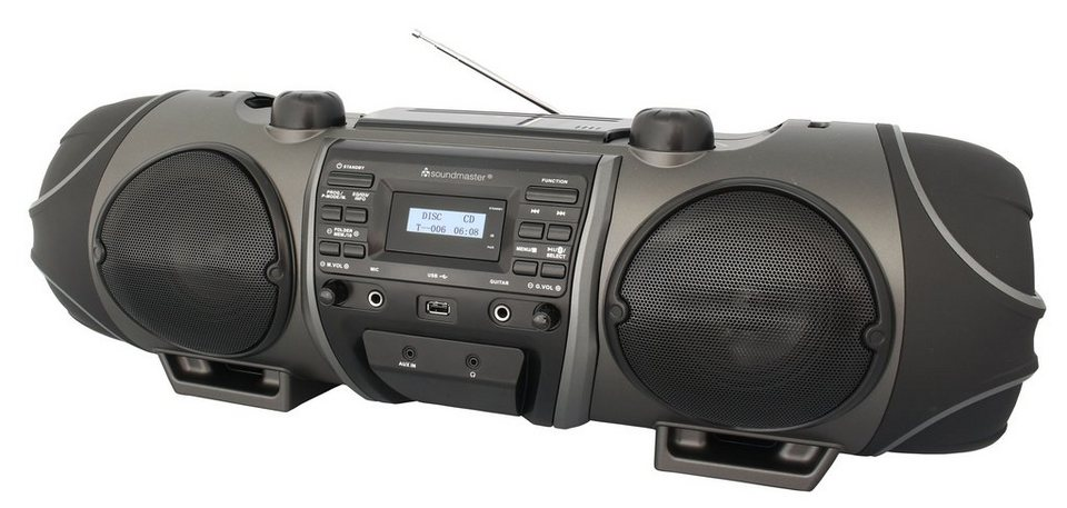 soundmaster CD-Radio »SCD8000« in Schwarz