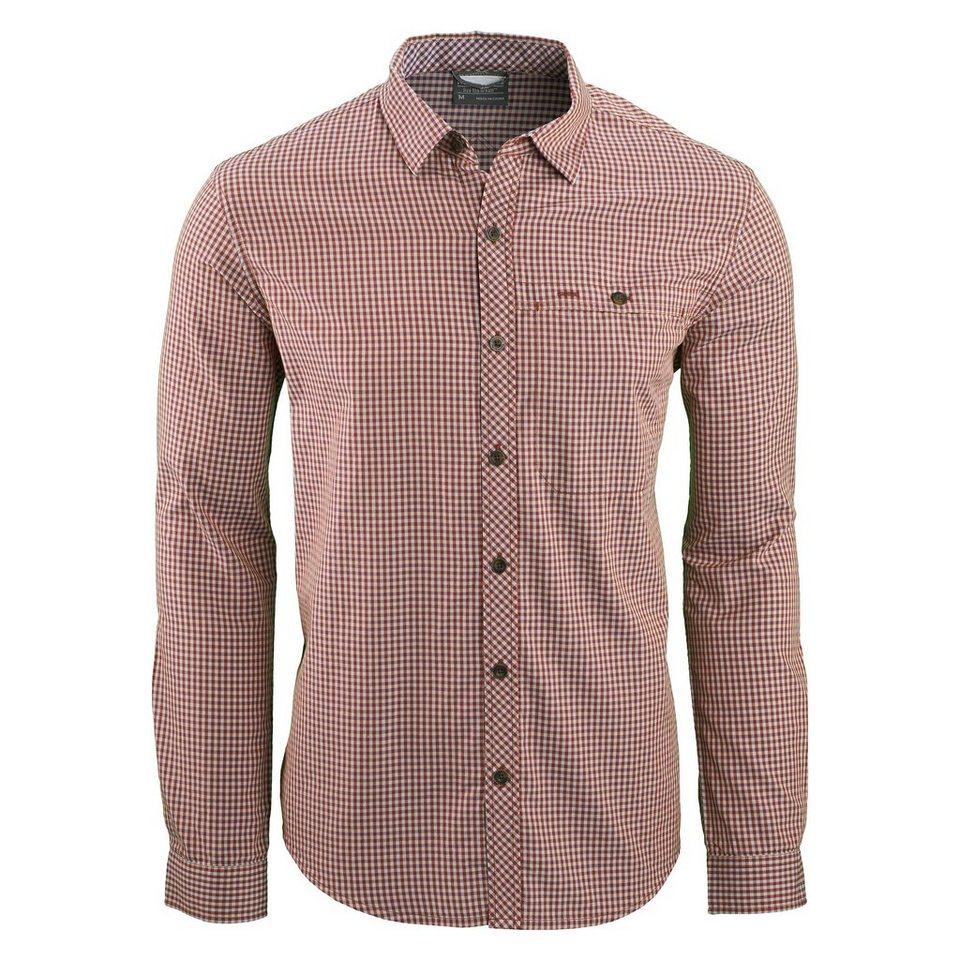 Kathmandu Hemd aus Bio-Baumwolle »Indio v4« in Red Check