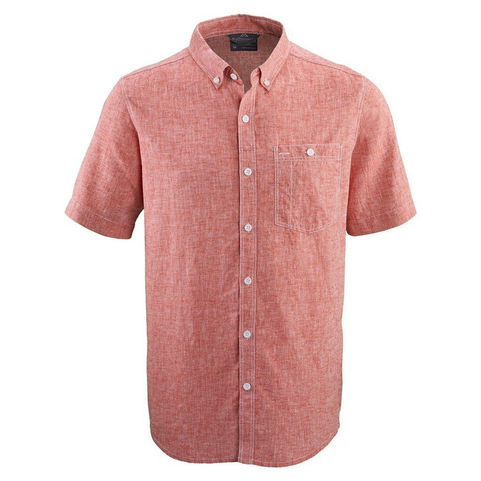 Kathmandu Leichtes Hemd »Renwick« in Red Earth
