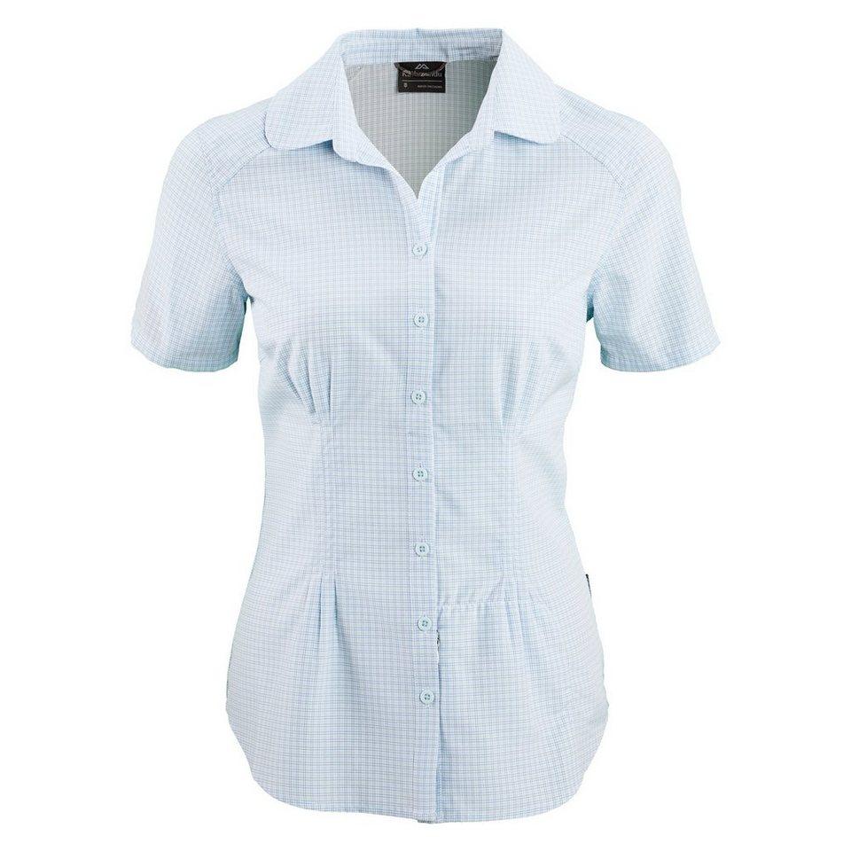 Kathmandu Insektenabweisende Bluse »Tonaca« in Blue Haze Check