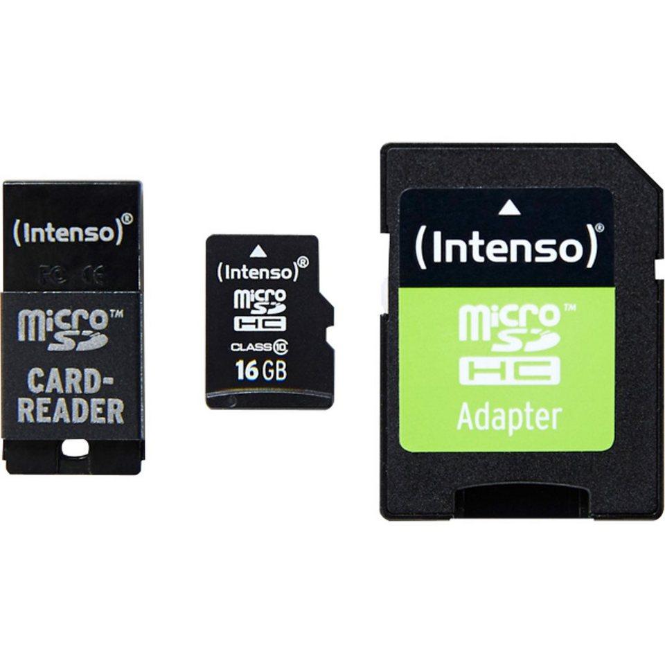 Intenso Speicherkarte »16 GB microSDHC«