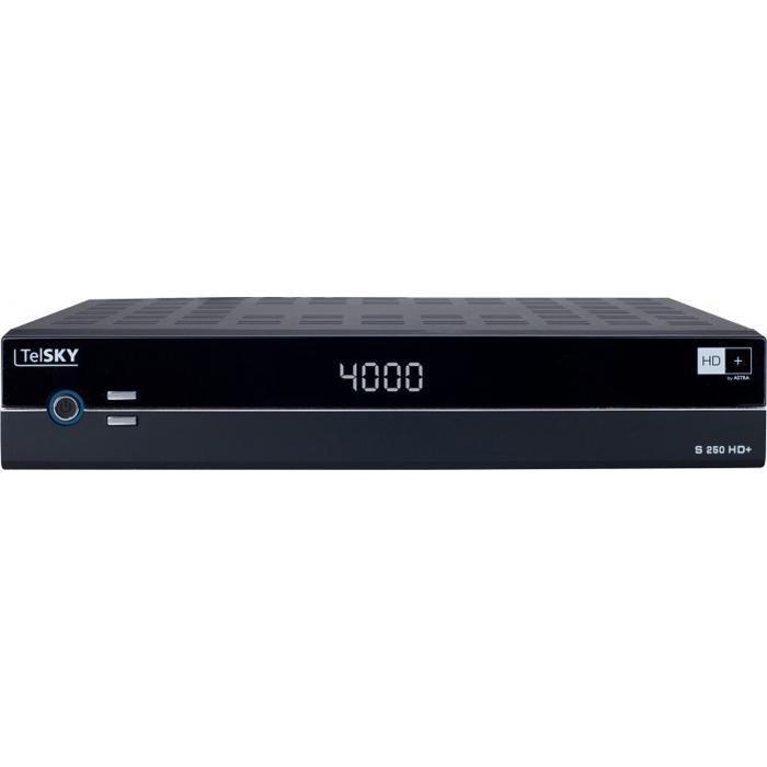 TelSKY HDTV Satelliten-Receiver »S 250 HD+« in schwarz
