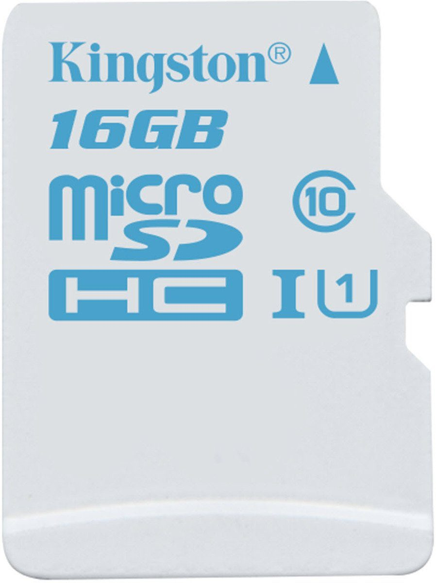 Kingston Speicherkarte »microSDHC Action Cam UHS-I U3, ohne Adapter, 16GB«