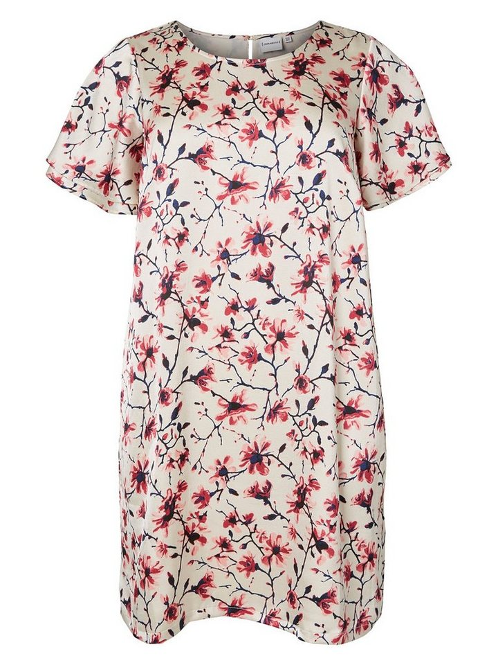 JUNAROSE Bedrucktes Kleid in Tea Rose
